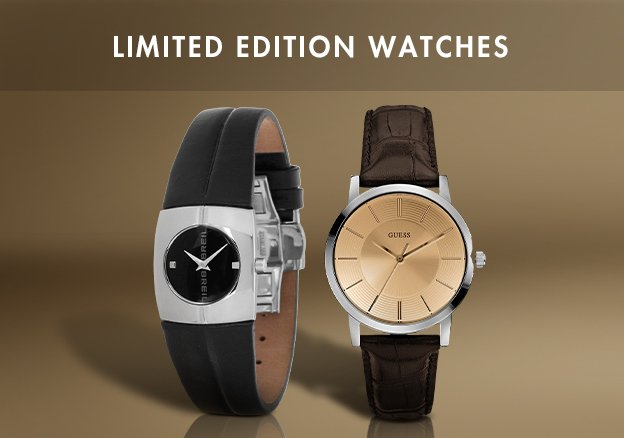 Limited Edition Watches!