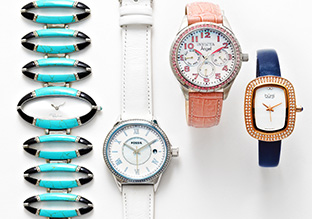 Time to Sparkle: Watches!