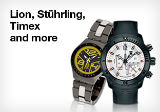 Lion, Stührling, Timex!