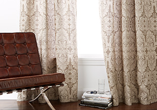 Crisp Curtains: Solids & Prints