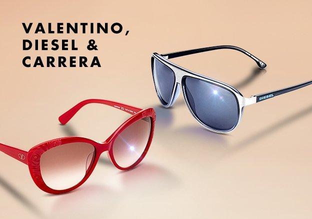 Valentino, Diesel & Carrera