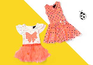 Recht & Verspielt : Kleider & Sets für Babys!