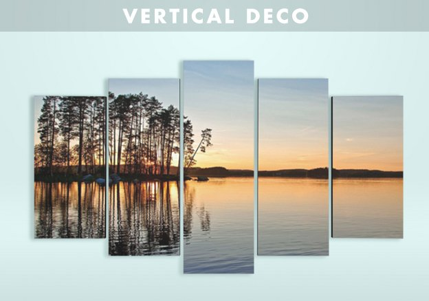 Lo+Demoda: vertical deco