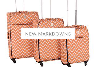 New Markdowns: Softsided Luggage!