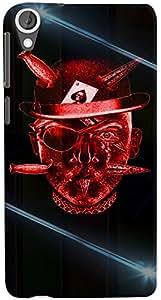 PrintVisa 3D-HTCD820-D7684 Boy Gambler Case Cover for HTC Desire 820