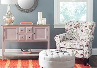 Instant Update: Patterned Furniture!