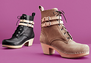 All Laced Up: Sandals, Boots & More