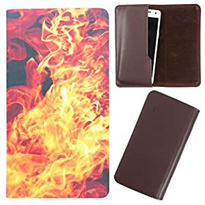 DooDa - For Panasonic Eluga A PU Leather Designer Fashionable Fancy Case Cover Pouch With Smooth Inner Velvet