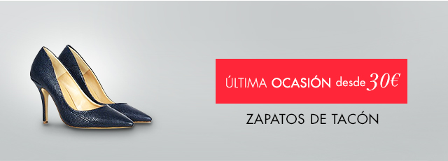 Zapatos de tacón a partir de 30€