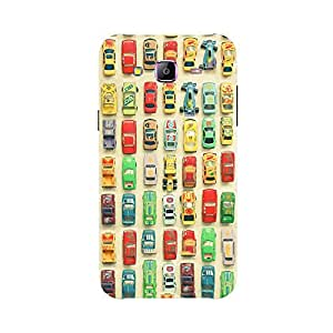 Back cover for Samsung Galaxy J1 Ace Toy car