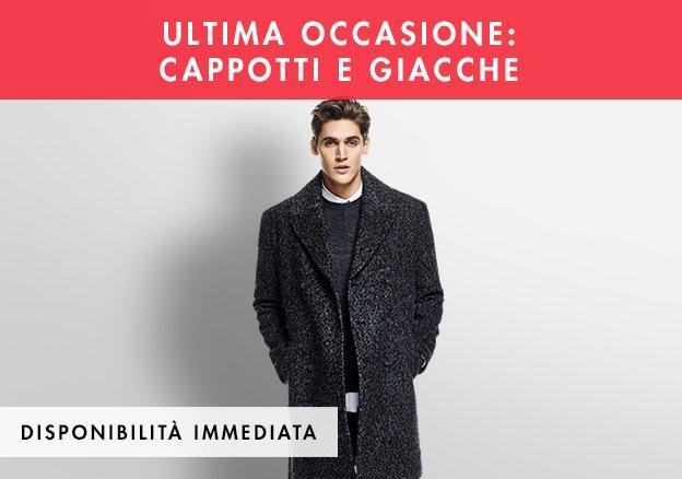 Ultima occasione: cappotti e giacche