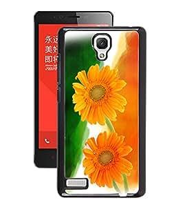 GENERIC PREMIUM FANCY 2D PRINT CASE COVER FOR REDMI NOTE 4G (Flowers of Patriotism