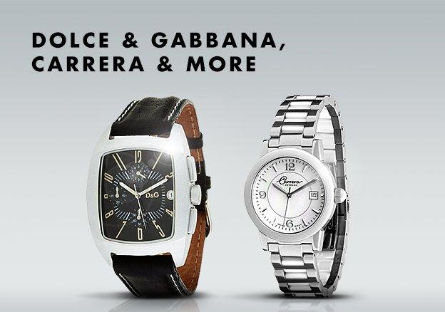 Dolce & Gabbana, Carrera & more