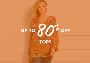 Up to 80% Off: Tops