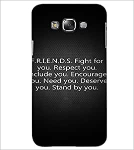 PrintDhaba Quote D-2877 Back Case Cover for SAMSUNG GALAXY A8 (Multi-Coloured)