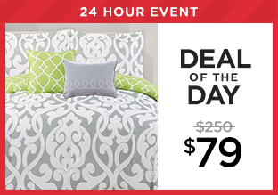 Deal of the Day: 11-pc. Comforter Set at $79