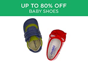 Up to 80% Off: Baby Shoes