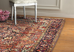 One-of-a-Kind Rugs: Oriental!