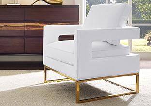 Geometric & Metallic: Modern Furniture!