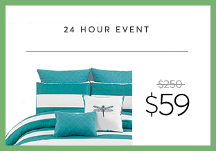 Deal of the Day: 7-Piece Comforter Set at $59!
