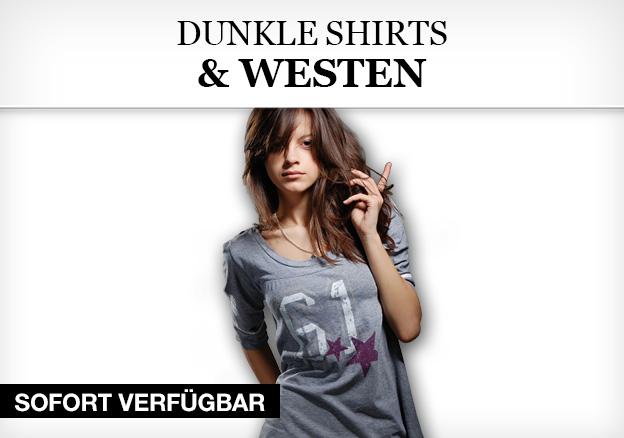 Dunkle Shirts & Westen