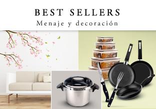 Best sellers: Menaje y decoración!