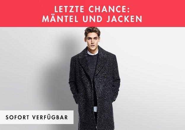 Letzte Chance: Mäntel und Jacken bis zu -85%