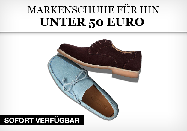 Markenschuhe für Ihn - Unter 50 Euro