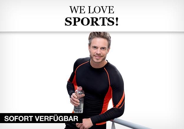 He loves sports!