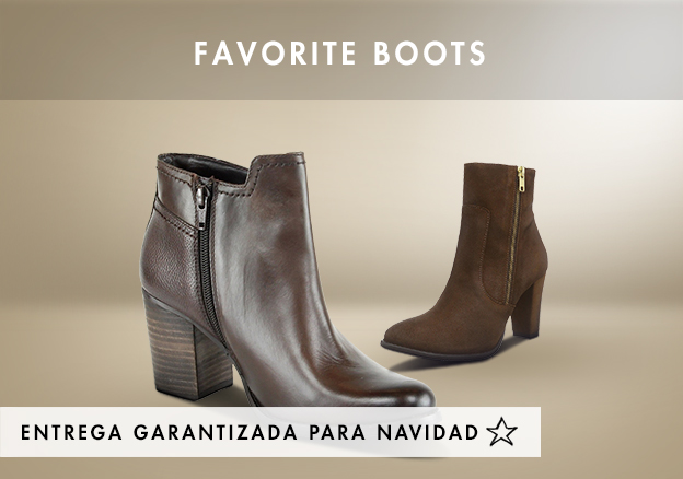 Favorite Boots up to -68%