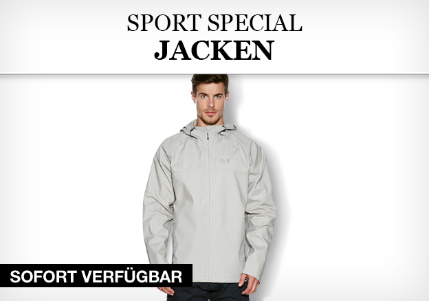 Sport Special: Jacken