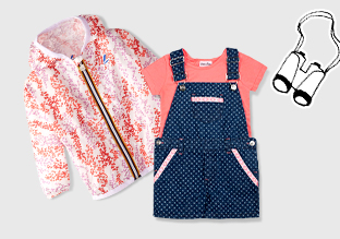 Girls 'Clothing : Happy Camper!