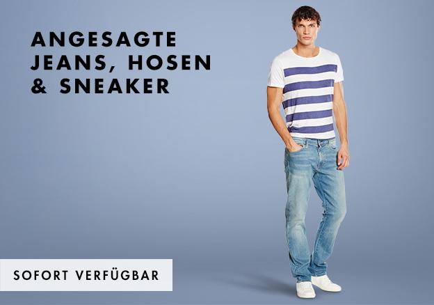 Angesagte Jeans, Hosen & Sneaker bis zu -66%