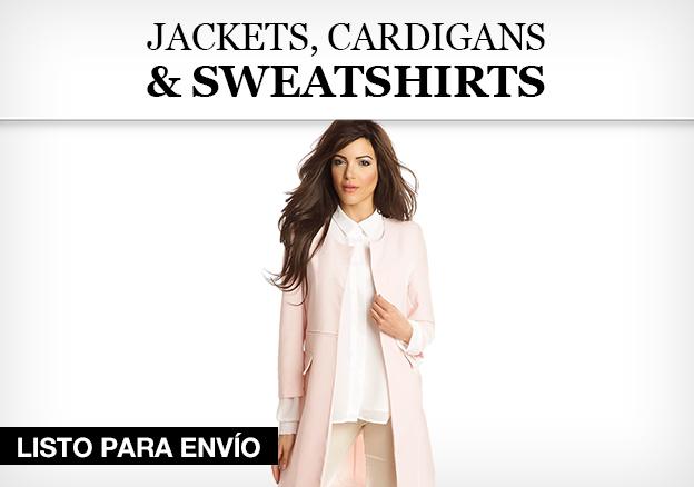 Jackets, Cardigans & Sweatshirts