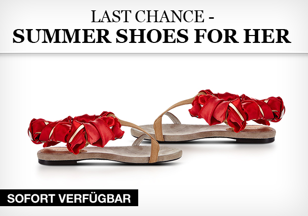 Last Chance - Summershoes for her