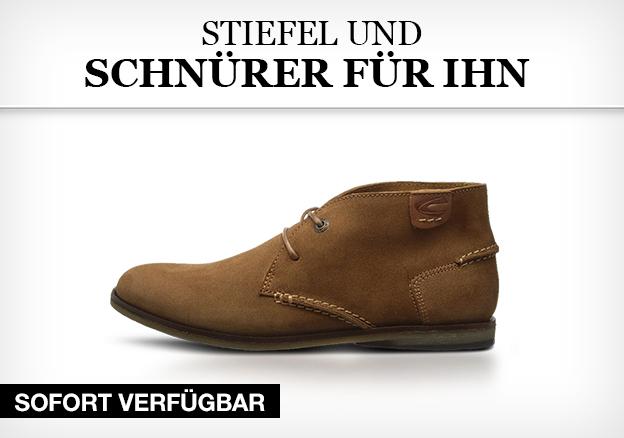 Stiefel und Schnürer für Ihn