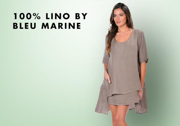100% Lino by Bleu Marine