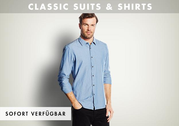 Classic Suits & Shirts