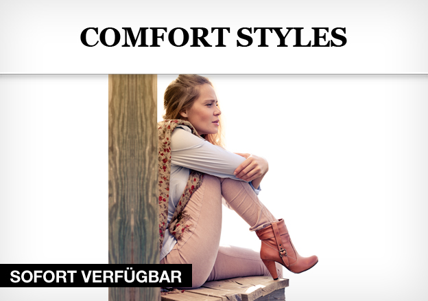 Comfort Styles: Shoes for the Weekend