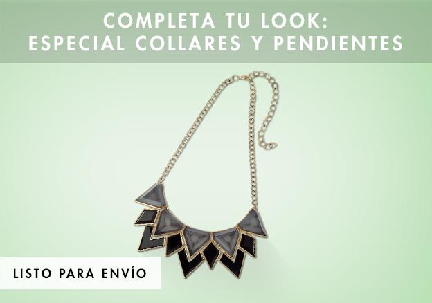 Completa tu look: especial collares y pendientes