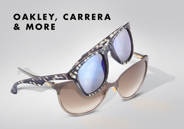Oakley, Carrera & more!