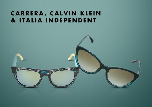 Carrera, Calvin Klein & Italia Independent