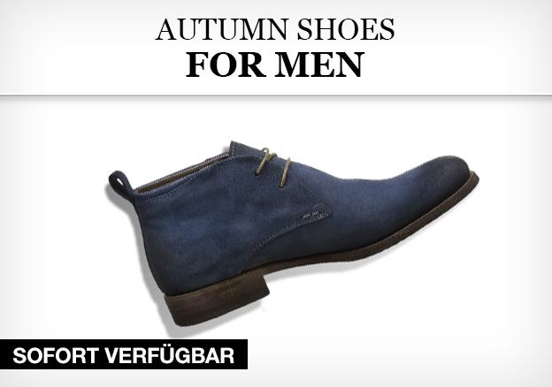 Autumn shoes for men
