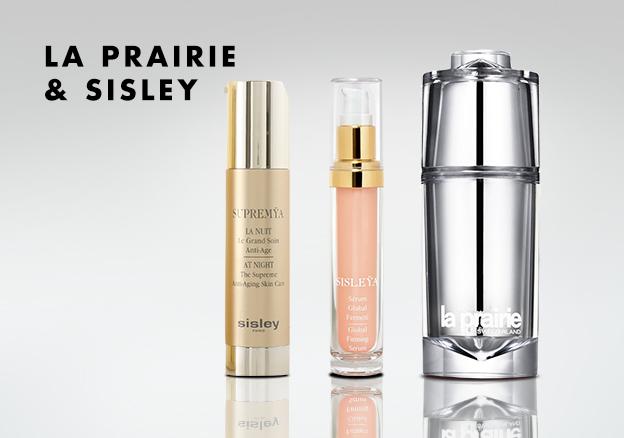 LA PRAIRIE & SISLEY!