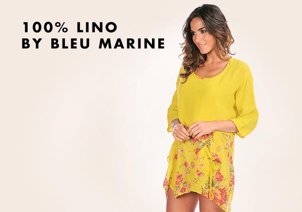 100% Lino by Bleu Marine!
