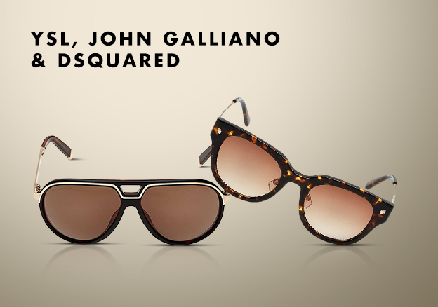 YSL, John Galliano & Dsquared!