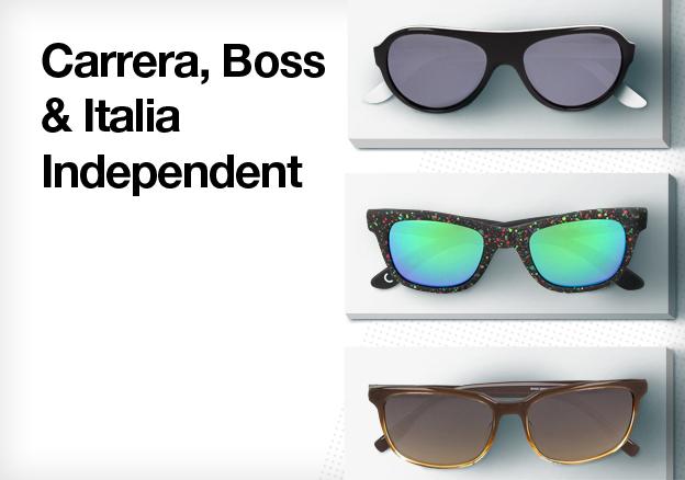 Carrera, Boss & Italia Independent