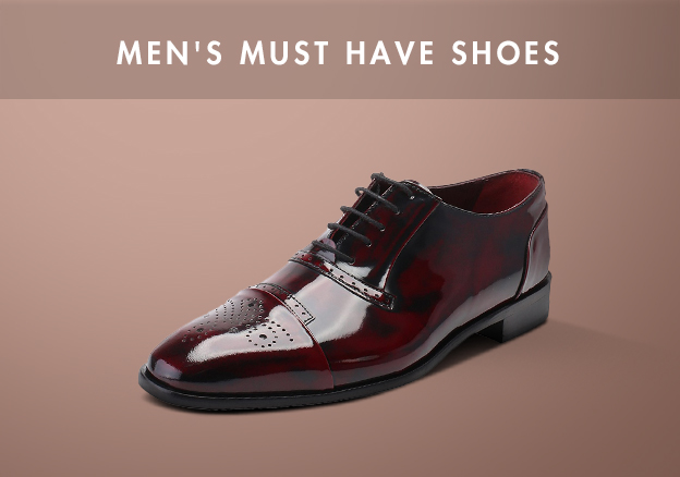 Men's Must have Shoes!