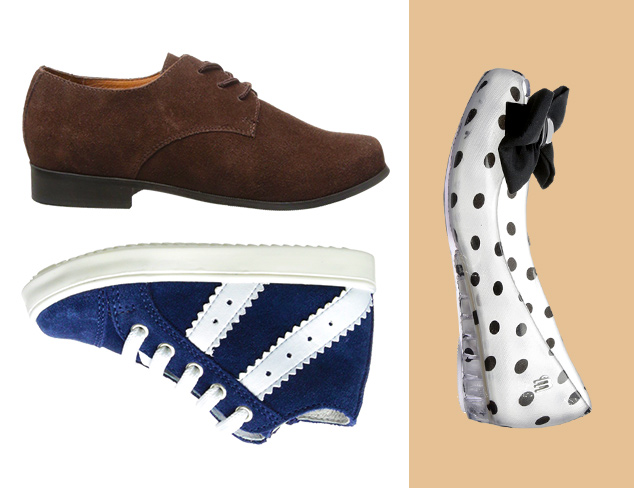 Casual to Dressy: Boys' & Girls' Shoes