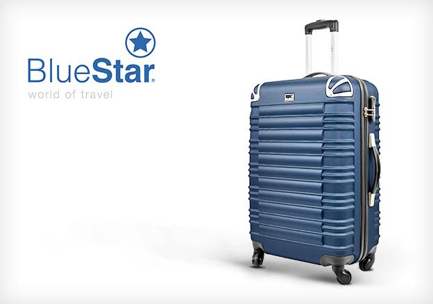 blue star koffer blau blau bd 2309. Black Bedroom Furniture Sets. Home Design Ideas